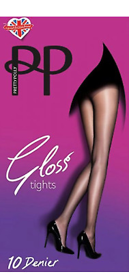 Pretty Polly 10 Denier Everyday Plus Gloss Tights 3 Sizes 2 Shades  • 3.90£