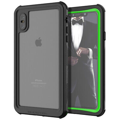 Ghostek NAUTICAL2 Waterproof Tough Case Cover For Apple IPhone XS Max - Green • 19.95£