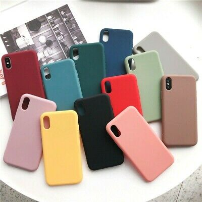 Case For IPhone 7 8 Plus X XS XR 11 PRO MAX SE 2 Silicone Shockproof Soft Cover  • 2.99£