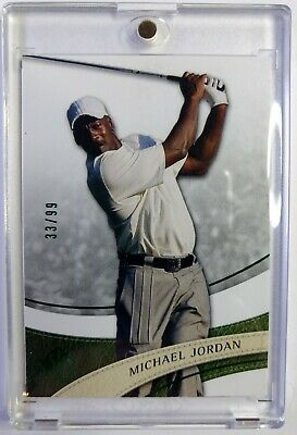 $110.99 • Buy 2013 Upper Deck SP Authentic Golf Green Michael Jordan #23, HOF, Bulls, #'d/99