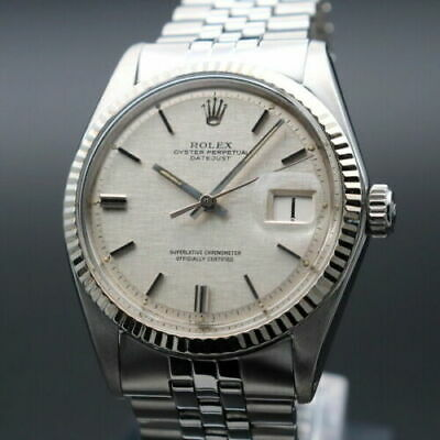 $ CDN6387.72 • Buy Rolex Oyster Perpetual Datejust Ref.1601 Vintage Overhaul Automatic Mens Watch