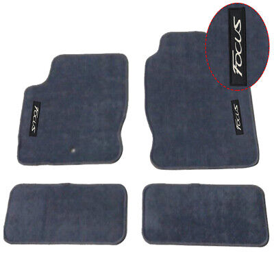 $48.99 • Buy For 00-07 Ford Focus Floor Mats Carpets Front & Rear Nylon Gray W/ Focus