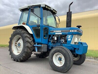 Ford 6610 Tractor With Pick Up Hitch In Very Good Condition 2 Wheel Drive • 10,250£