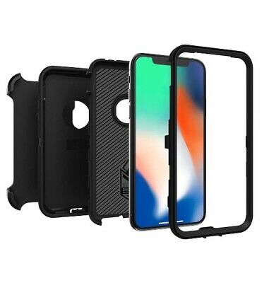 AU42.99 • Buy Otterbox Defender Case ForiPhone 11 X XS MAX XR 8 7 PLUS RUGGED PROTECTION