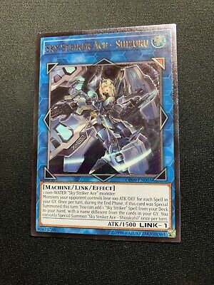 $ CDN73.48 • Buy Yugioh Sky Striker Ace - Shizuku Ultimate Rare OP09-EN003 VLP/NM