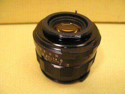 $ CDN100 • Buy Asahi Pentax Super Takumar 55mm F1.8 1973456 M42 Mount