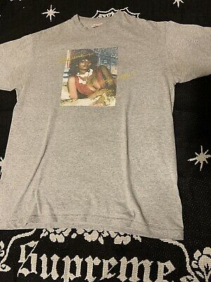$ CDN134.08 • Buy Supreme Pam Grier T-shirt Tee SS12 Heather Gray Large L Box Logo Rare