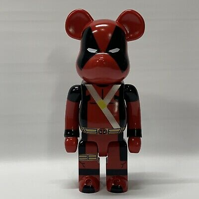 $594.95 • Buy Marvel BE@RBRICK 400% DEADPOOL Medicom Toys ~ Bearbrick Deadpool Figure