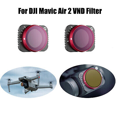 AU35.79 • Buy For DJI Mavic Air 2 Drone Accessories PGYTECH ND Camera Lens Filter