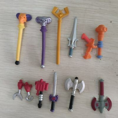 $12.99 • Buy Lot Of 12pcs Loyal Subjects Masters Of The Universe Weapons Swords Gun Sheild