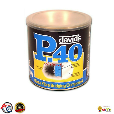 1 LITRE ISOPON P40 Glass Fibre GLASS FIBRE BRIDGING COMPOUND • 37£