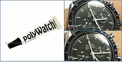 £10.90 • Buy PolyWatch Scratch Remover Polish Watch Face Plastic Acrylic Glass Crystal Repair