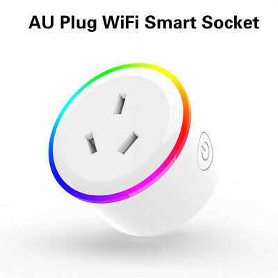 AU21.99 • Buy Wifi Smart Plug Socket Switch Outlet Adaptor Amazon Alexa Google Home 10A AU