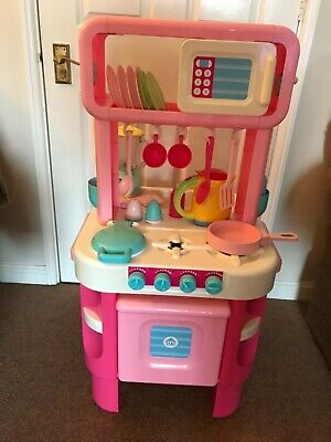 ELC Pink Kitchen With Accessories Good Used Condition • 5£