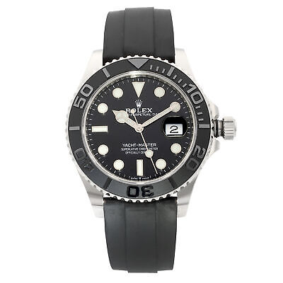 $ CDN41287.04 • Buy Rolex Yacht-Master 42mm White Gold Black Dial Automatic Mens Watch 226659