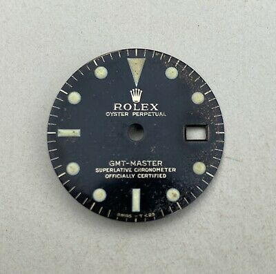 $ CDN10838.30 • Buy Gilt Dial For Rolex GMT Master 1675 - 100% Authentic - Unaltered