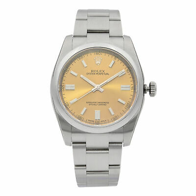 $ CDN6925.13 • Buy Rolex Oyster Perpetual 36mm Steel White Grape Dial  Mens Watch 116000WGSO