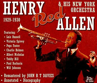 £14.31 • Buy Henry Red Allen - Henry Red Allen And His New York Orchestra [CD]