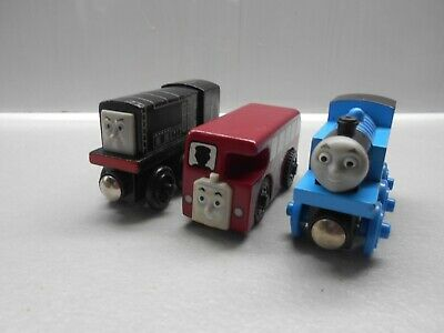 Wooden Thomas The Tank Engine Train For Brio Diesel  Thomas And Bertie • 15.99£