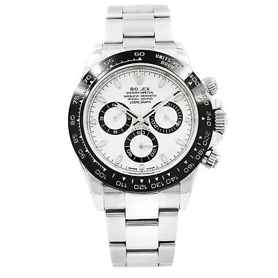 $ CDN38874.63 • Buy Rolex Cosmograph Daytona 116500LN White Dial Stainless Steel Automatic Men Watch