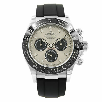 $ CDN49985.80 • Buy Rolex Cosmograph Daytona 18K White Gold Ceramic Steel Dial Mens Watch 116519LN