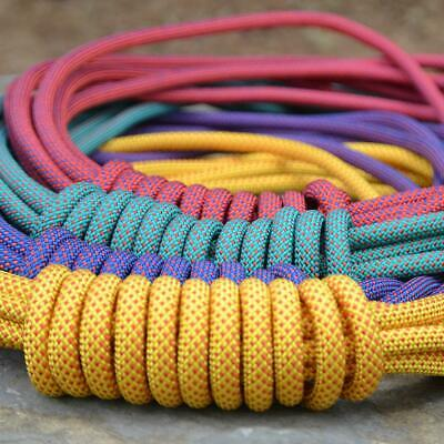 10.5mm Outdoor Safety Rope Climbing Rappelling   Fire Escape Equipment 25KN • 39.96£