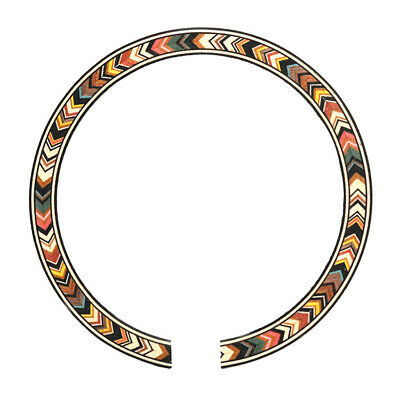 B-77 Soundhole Inlay Rosette Guitar Sound Hole Decal Sticker Decorate Parts • 3.31£