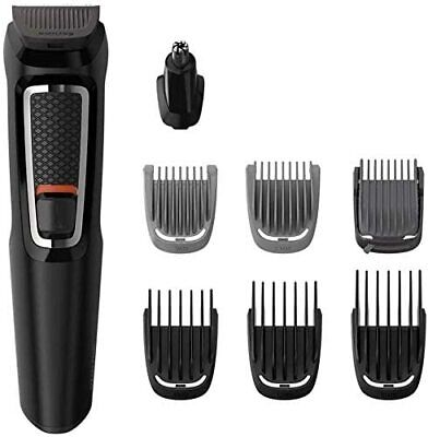 AU89.99 • Buy Philips Multigroom Series 3000 8-in-1 Face And Hair Cordless Trimmer With 8 Tool