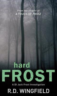 Hard Frost: (DI Jack Frost Book 4), Wingfield, R D, Good Condition Book, ISBN 05 • 3.15£