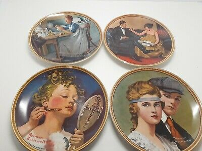$ CDN37.58 • Buy NORMAN ROCKWELL Rediscovered Women Series Complete Set Collectible Plates