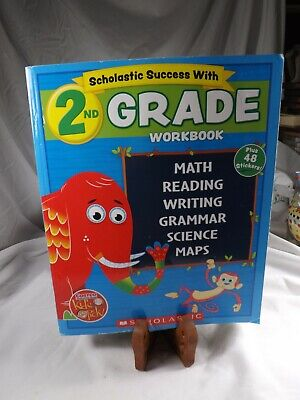 $ CDN15.84 • Buy  2018 Edition Scholastic - 2nd Grade Workbook With Motivational Stickers Book