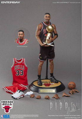$795.15 • Buy ​Enterbay 1/6 Scale Real Masterpiece NBA Collection Scottie Pippen Action Figure