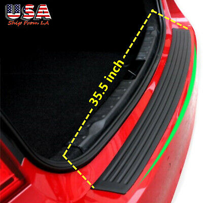 $14.12 • Buy 4D Parts Accessories Rubber Sheet Car Rear Guard Bumper Sticker Panel Protector