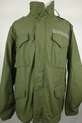 $ CDN93.93 • Buy Alpha Industries M-65 Military Field Jacket Men Size Large Regular Made In USA