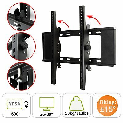 AU26.59 • Buy TV Wall Mount Bracket Tilt Flat Slim LED LCD Plasma 26 32 42 55 65 75 80 Inch