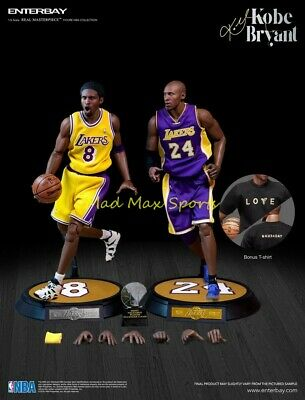 $688.24 • Buy New KOBE BRYANT Los Angeles Lakers ENTERBAY NBA 1:6 Scale Action Figure - RM1065