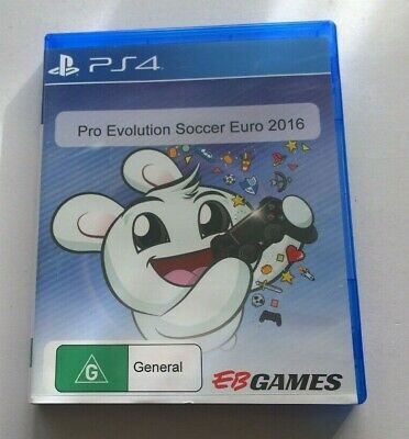 AU12 • Buy Sony Playstation 4 Ps4  Pro Evolution Soccer Euro 2016 Video Game Free Postage