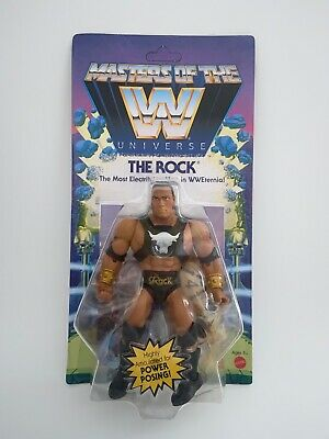 $28.95 • Buy Masters Of The WWE Universe The Rock Figure Walmart Exclusive New MOTU