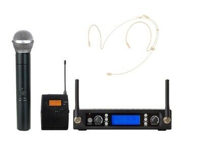 Wireless Vocal Set High-performance Microphone System Handheld Headset Mic Set • 105.43£