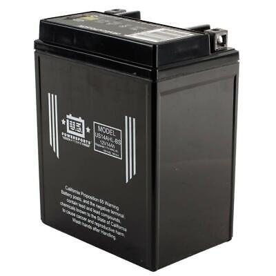 AU100.83 • Buy NEW USPS AGM BATTERY US14AHL-BS    YB14L-A2  *4 From Moto Heaven