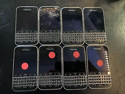 $ CDN232.49 • Buy LOT OF 8 BlackBerry Classic -PARTS & REPAIR