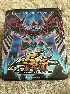 Yugioh 5ds 2009 Earthbound Immortals Trading Card Empty Tin  • 3.50£
