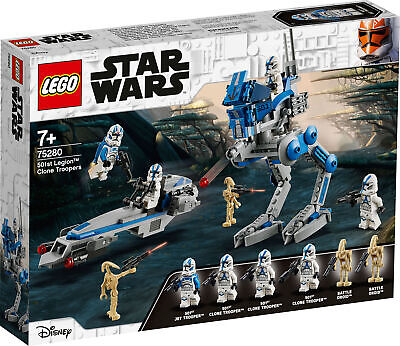 75280 LEGO Star Wars 501st Legion Clone Troopers Playset 285 Pieces Age 7+ • 29.99£