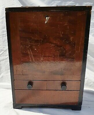 Vintage Table Top Coin Operated Cigarette Dispenser Machine Fully Working & Key  • 55£