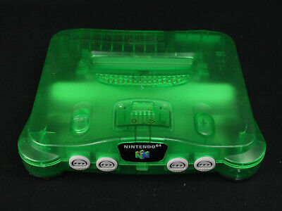 $ CDN120.42 • Buy Nintendo 64 N64 Console Only Jungle Green NUS-001 Tested Working No Jumper Pack