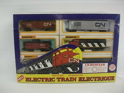 $ CDN129.99 • Buy Bachmann CN Huster Electric Train Set HO Scale W/ Box NonFunctional Parts Repair