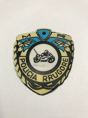 $ CDN13.36 • Buy Albania Original  Police Patch   Road Police   Old Model