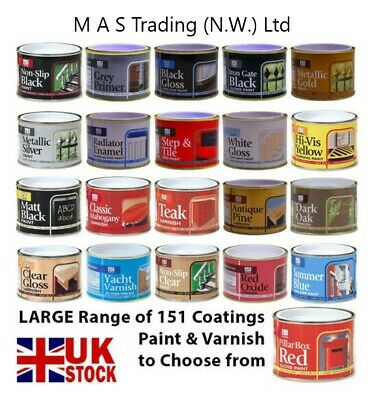 151 Coatings Paint Primer Metallic Gloss Matt Red Gold Silver Black White 180ml • 5.95£