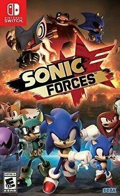 AU45 • Buy Sonic Forces Nintendo Switch Brand New Sealed
