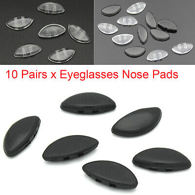 £1.80 • Buy 10Pairs Nose Pads Stick On Nose Pad Spare Parts For Eyeglasses Glasses Anti-slip